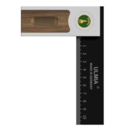 Ulmia 500-150 Multiwinkel, Präzisions Winkel Alu-Line (hohe Messgenauigkeit; gehärtete Stahlschiene; Maßskala; justierbar mittels Präzisionsjustierschraube; 150 mm; Genauigkeit: ± 0,02)