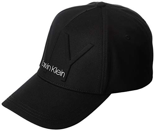 Calvin Klein K60k606088 Gorra de béisbol, Negro (Black Bds), Talla única (Talla...