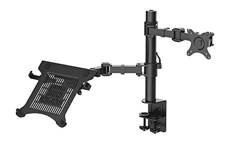 Desktop Free Standing Hex Dual LCD-arm-monitor-desktop standplaats instelbare beeldaanpassing voor 10