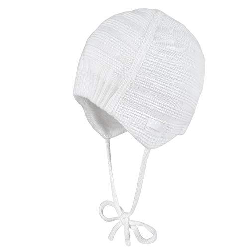 maximo Baby Mütze gefüttert mit Bindeband-41 - Kindermode : Baby - Mädchen