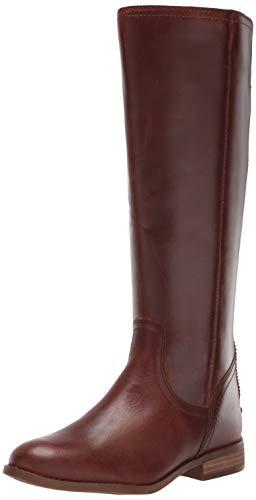Frye and Co. Women's Jolie Back Zip Knee High Boot, Cognac, 8.5 M US