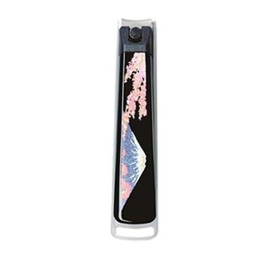 船中遺伝的紀州漆器 22-82-7A 蒔絵ミニ爪切り 紙箱入り サイズ 1.3×7.3×1.8cm