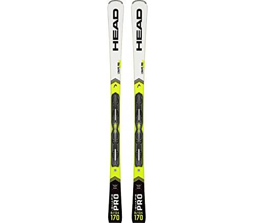 HEAD WC Rebels iShape Pro AB INKL. PR 11 GW BR.78 Unisex Ski avec Fixation Blanc OS