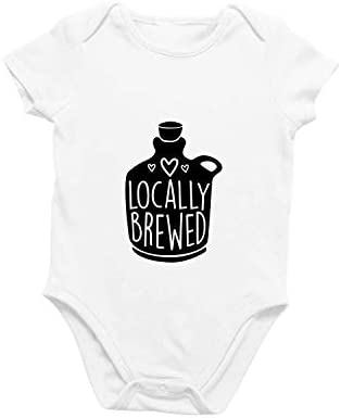 Onesie Organic Baby One Piece Short Sleeve Trendy Cute Funny Minimal Bodysuit 0 12 Months Locally product image