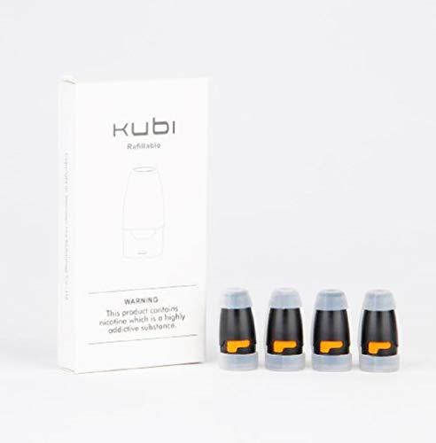 Hotcig - Kit 4 pezzi Pod di ricambio per Hotcig Kubi, diverse resistenze disponibili (1,4 Ohm)