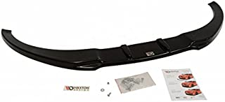 Maxton Design Front Splitter Spoiler Compatible with Audi TT MK2 for Standard Bumper