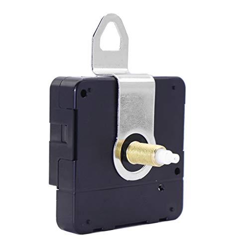 S-TROUBLE Mecanismo de Movimiento de Reloj de Cuarzo silencioso de un Segundo, Piezas de Herramientas de reparación de Manos, reemplazo montado en la Pared de Bricolaje