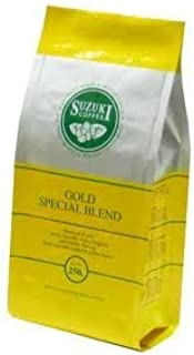 Suzuki Coffee Gold Special Blend Medium Roast Sweet Smooth with a Fragrant and Classic Flavour From Specially Selected Coffee Bean 250 G