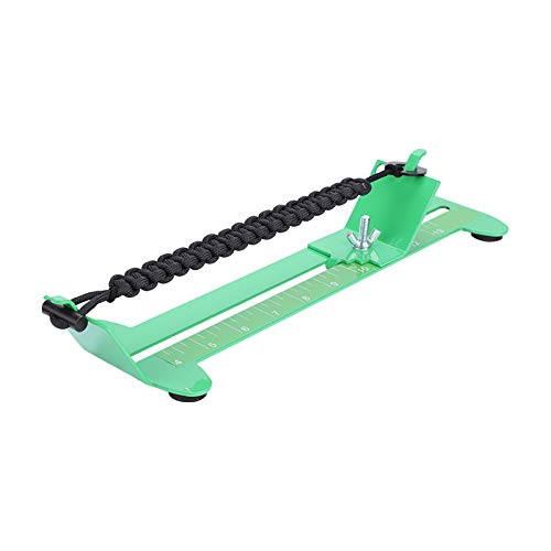 Nicoone Bracelet DIY Metal Weaving Tool Adjustable Length Braiding Kits Accessory Two Complete Full Size Jigs in One Easy to Use System