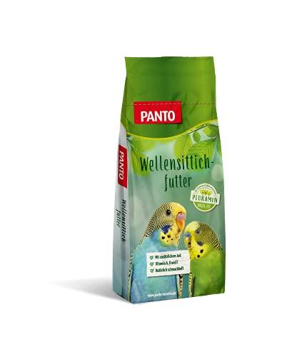 Panto Ziervogelfutter, Wellensittichfutter 25 kg, 1er Pack (1 x 25 kg)