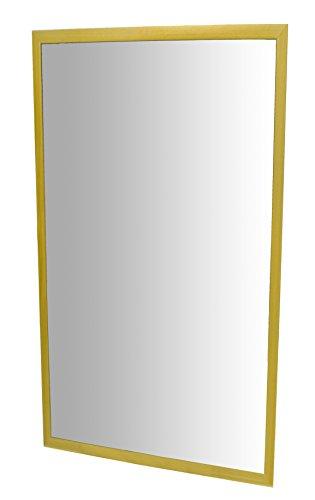 Henbea- Espejo irrompible, Color Amarillo, 120x50 (755/B4)