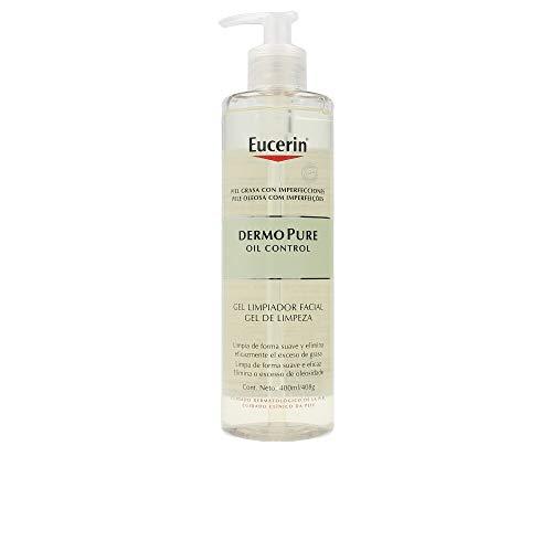 Eucerin Dermo Pure Oil Control Gel Limpiador Facial Piel Grasa, 400ml