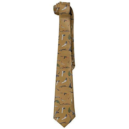 Armas militares Moda para hombre Lazos de seda Corbatas de regalo únicas