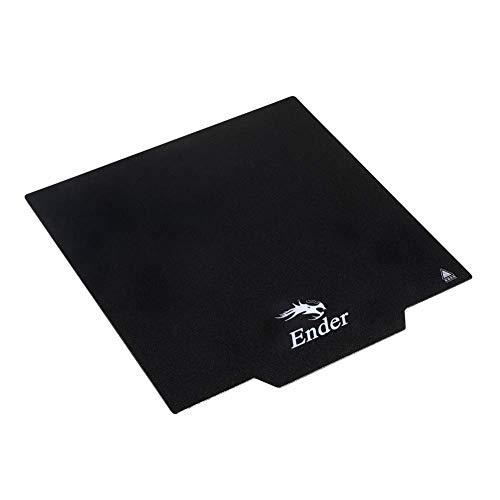 Creality Original Ultra-Flexible wiederablösbarer magnetischer 3D-Printer Build Oberfläche Heated Bed Cover for Ender 3/Ender 3 Pro 3D Printer 235 x 235 mm