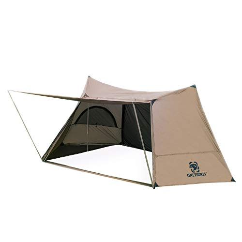 OneTigris SOLO HOMESTEAD Camping Tent, with 4 Poles