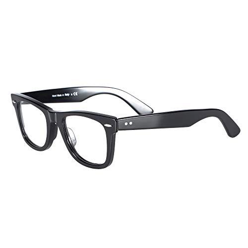 Eileen&Elisa Retro Blue Light Blocking Glasses Frames for Men/Women, Optical Eyeglasses with Non Prescription Lens