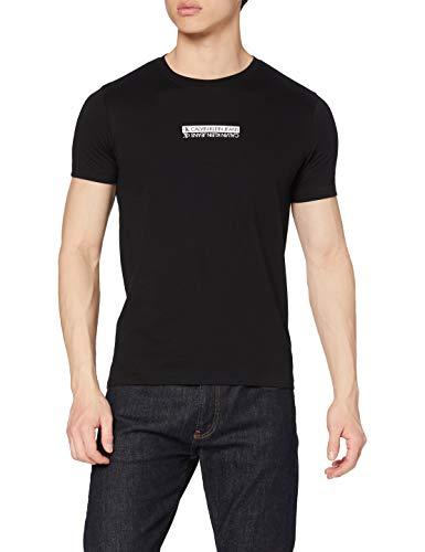 Calvin Klein Mirror Logo Slim Fit tee Camiseta para Hombre