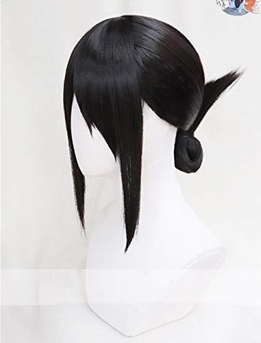 BCOGG Shinomiya Kaguya Black Cosplay Peluca Kaguya-Sama: Love Is War Kaguya-Sama Wa Kokurasetai: Tensai-Tachi No Renai Zunousen Headwear