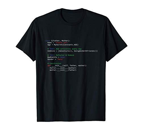 IT Programador Codificador Código Codificación Nerd Regalo Camiseta