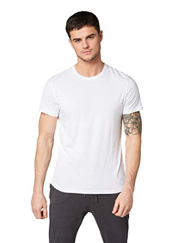 TOM TAILOR Herren T-Shirt 2er pack crew-neck, Gr. XX-Large, Weiß (white 2000)