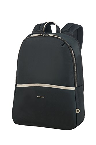 Samsonite Backpack 14.1' (Black/Sand) -Nefti  Rucksack, Black/Sand