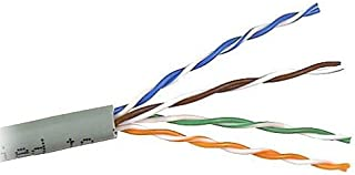 Belkin CAT6 1,000-Foot Solid Bulk Coaxial Ethernet Cable, Gray - A7L704-1000