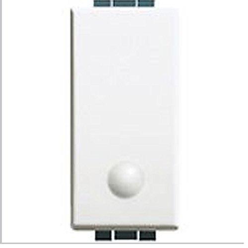 Bticino luna - Interruptor con lente luminoso 16a 250v 1 módulo luna
