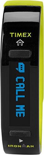 Timex Unisex TW5K85600 Ironman Move X20 Activity Tracker Medium/Large Black/Lime Watch