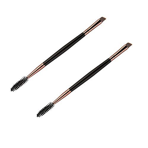 Ogquaton Pinceau à cils Baguettes de mascara Eye Lash Brush Outil de toilettage pour peigne à cils à double extrémité