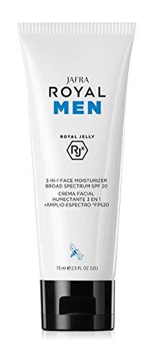 Jafra Royal Men 3-in-1 Feuchtigkeitscreme mit Sonnenschutz SPF 20, 75 ml