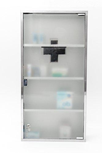 80 x 40 cm Jumbo Design apteczka szafka na leki stal szlachetna XXXXL