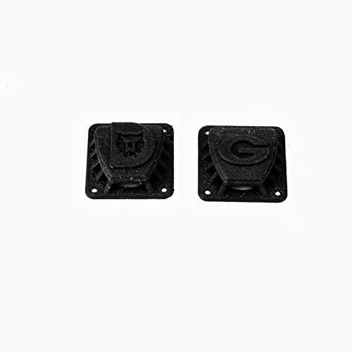 DUBAO Instrumentos Cubierta Protectora Protectora del Ventilador Anti-Niebla de PLA Impreso 3D para Gafas de Gafas de fatshark