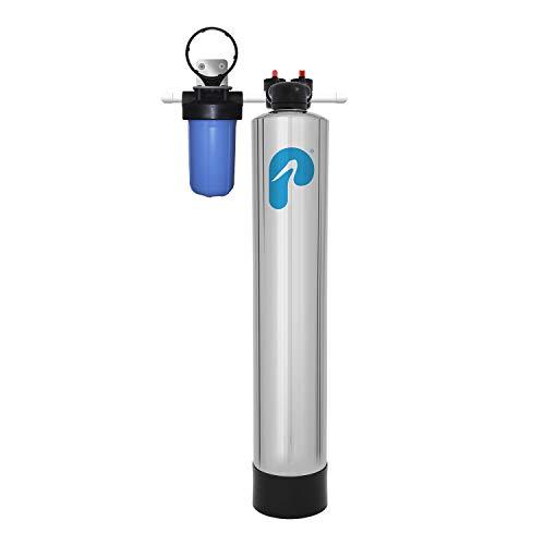 Pelican Salt-Free Water Softener Alternative & Conditioner (4-6 Bathrooms)