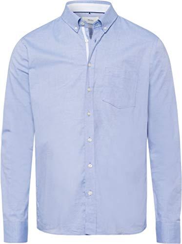 BRAX Herren Style Dries Hemd mit Button-Down-Kragen, BLEU, L