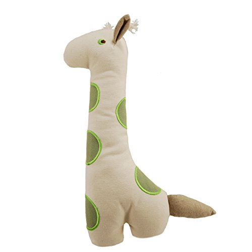 Simply Fido Big Gable Giraffe Toy, 14, Natural by