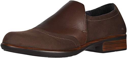 NAOT Women's Angin Slip On Shoe Coffee Nubuck/Toffee/Coffee Nubuck 10 M US