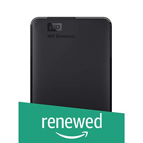 WD 1TB Elements Portable Hard Disk Esterno - USB 3.0 (Ricondizionato)