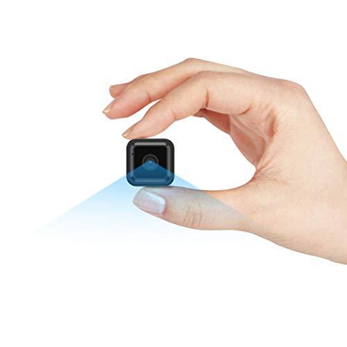 Mini Camara Espia Oculta Videocámara, CACAGOO 1080P HD WiFi Cámara 2.4Ghz Vigilancia Portátil Secreta Compacta con Detector de Movimiento IR...