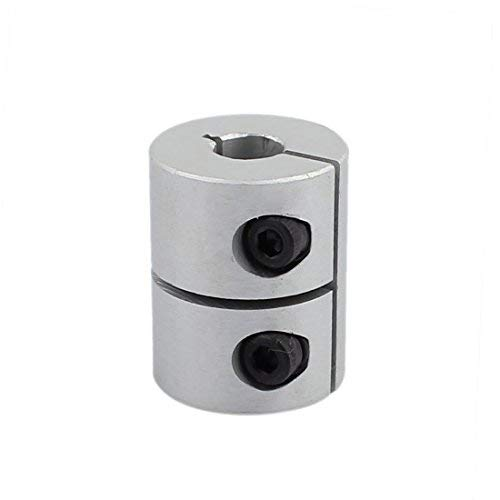 7mm à 7mm Accouplement D'arbre 25mm Longueur 20mm Diamètre Coupleur En Alliage D'aluminium Joint Moteur pour Imprimante 3D CNC Machine DIY Encodeur