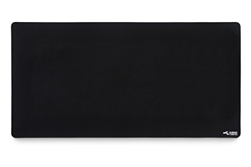 Glorious XXL Extended Gaming Mouse Mat/Pad - Large, Wide (XLarge) Black Cloth Mousepad, Stitched Edges | 36x18' (G-XXL)