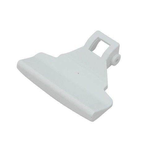 ZANUSSI - Tirador de puerta para secadora de ropa, color blanco