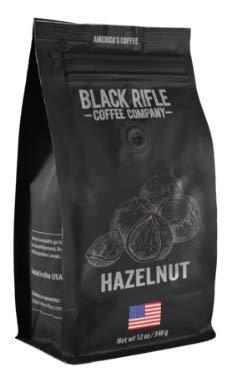 Black Rifle Coffee Company Ground Coffee 12oz Bag (Hazelnut)