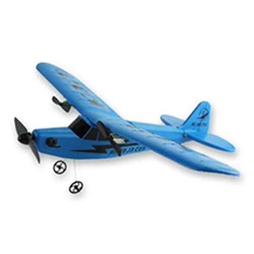 WOIA Avión teledirigido bidireccional del ala Fija del Planeador del EPP del Planeador de la Espuma 2.4G, Azul