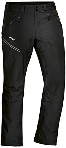 Uvex ADA 17506 Outdoorhose - Männer-Regenhose mit Mesh-Futter - Schwarz - 52