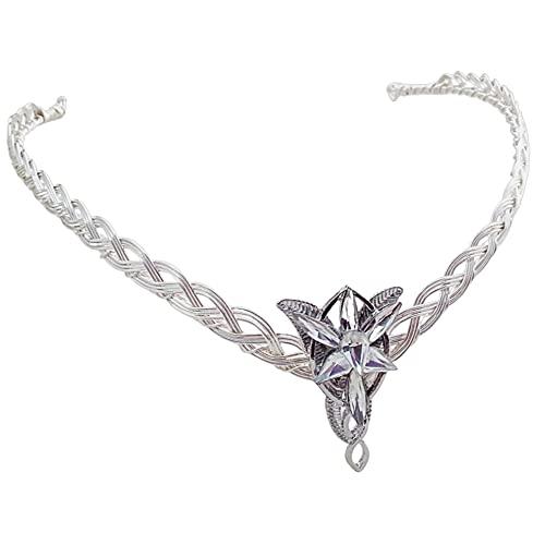 Evenstar Arwen Celtic Weave Circlet Crown
