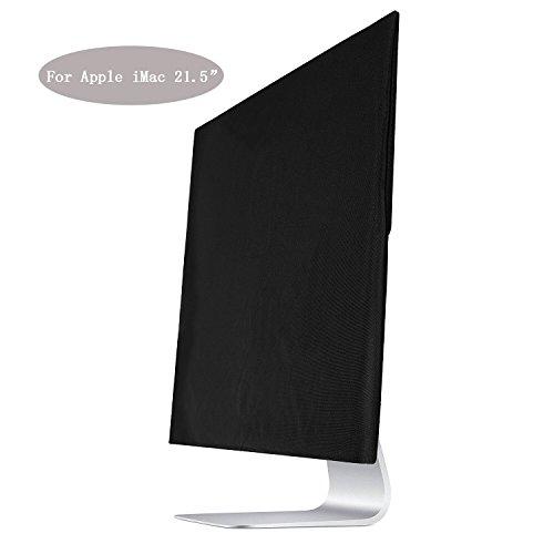 Dreamerd Sleeve copertura dello schermo polvere nera per Apple iMac 21.5' copertura antipolvere, salvaschermo (A1224, A1311, A1418)
