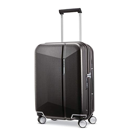 Samsonite Etude Hardside Luggage with Spinner Wheels, Black/Bronze, Carry-On 20-Inch