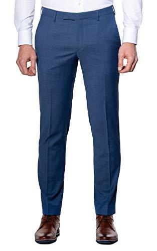 Pierre Cardin Herren Mix & Match Hose Dupont Futureflex Anzughose, blau, 26
