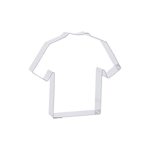 Cutter Sweet 1 Keks - Ausstecher T-Shirt/Trikot   aus Edelstahl   Sporttrikot   Fußball   Sportverein