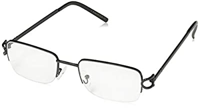 V.W.E. Rectangular Frame Clear Lens Designer glasses RX Optical EyeGlasses